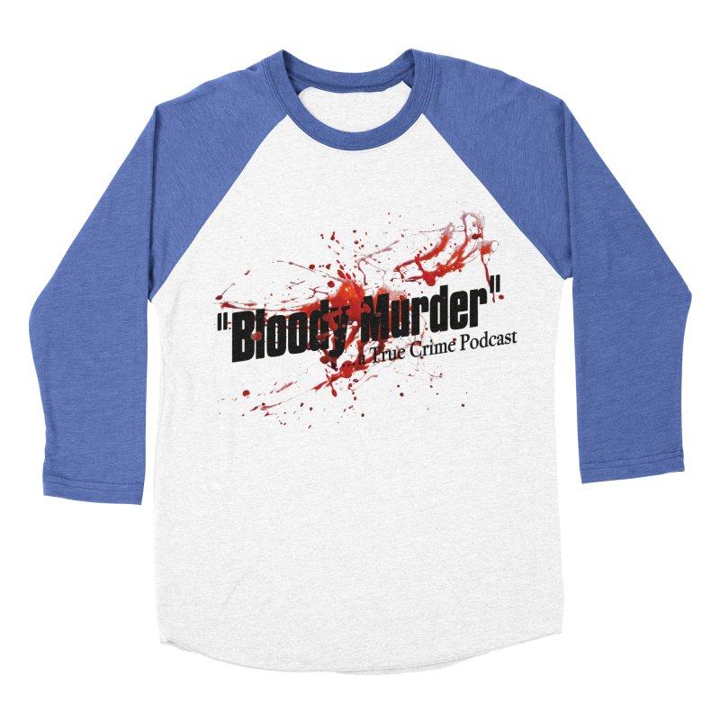 Bloody Murder Bleeding Logo Men's Baseball Triblend T-Shirt by bloodymurder's Artist Shop
