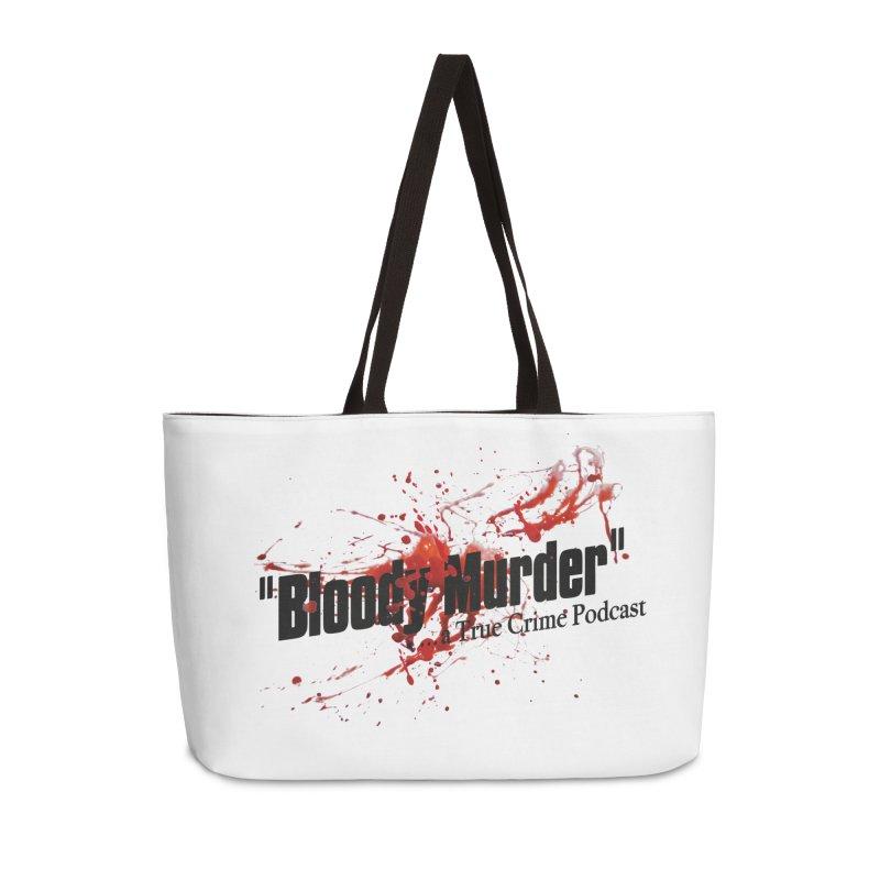Bloody Murder Bleeding Logo Accessories Bag by bloodymurder's Artist Shop