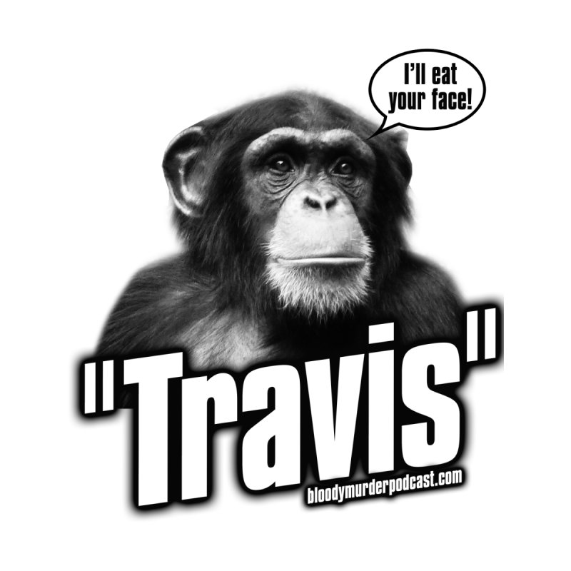 Travis the Chimp Kids Baby T-Shirt by Bloody Murder's Artist Shop