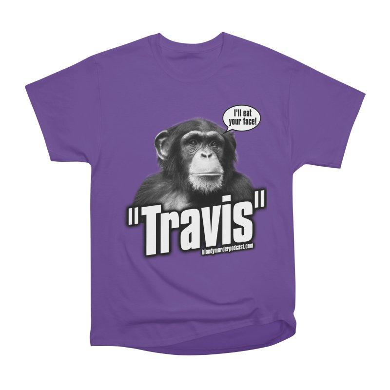 Travis the Chimp Women's Classic Unisex T-Shirt by bloodymurder's Artist Shop