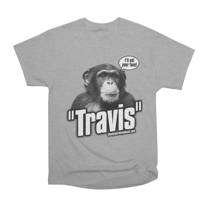 Travis the Chimp Men's Classic T-Shirt by bloodymurder's Artist Shop