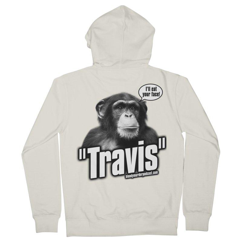 Travis the Chimp Women's Zip-Up Hoody by bloodymurder's Artist Shop