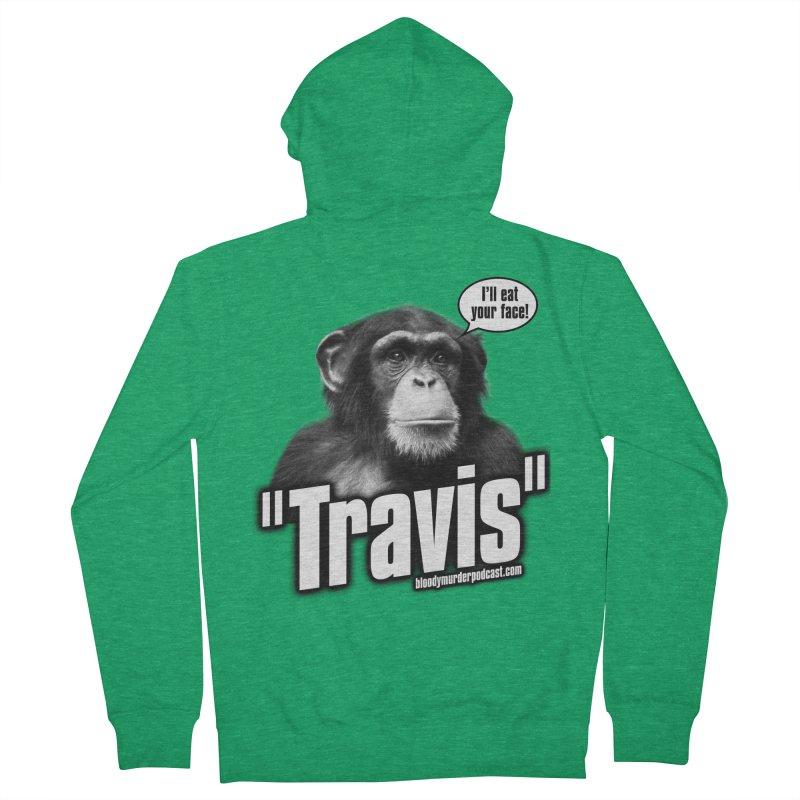 Travis the Chimp Men's Zip-Up Hoody by bloodymurder's Artist Shop