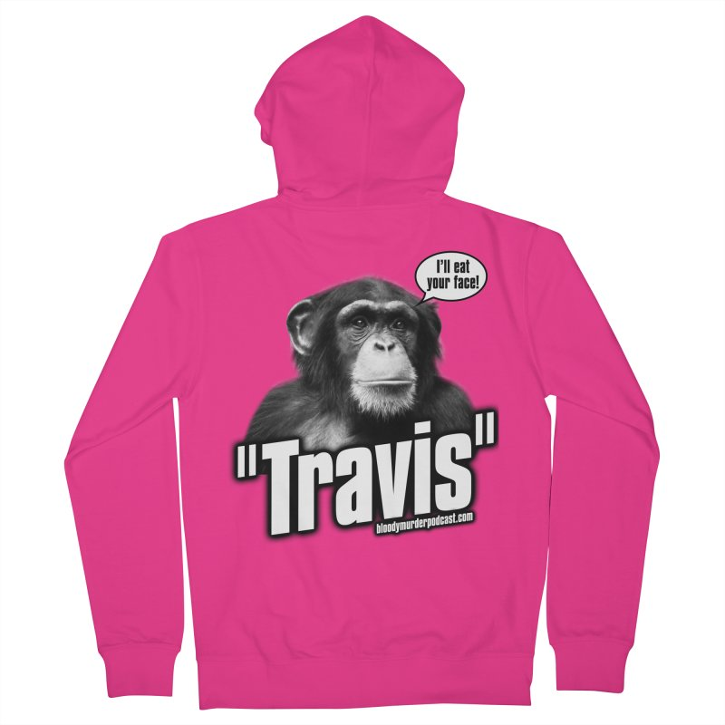 Travis the Chimp Men's Zip-Up Hoody by bloodymurder's Artist Shop
