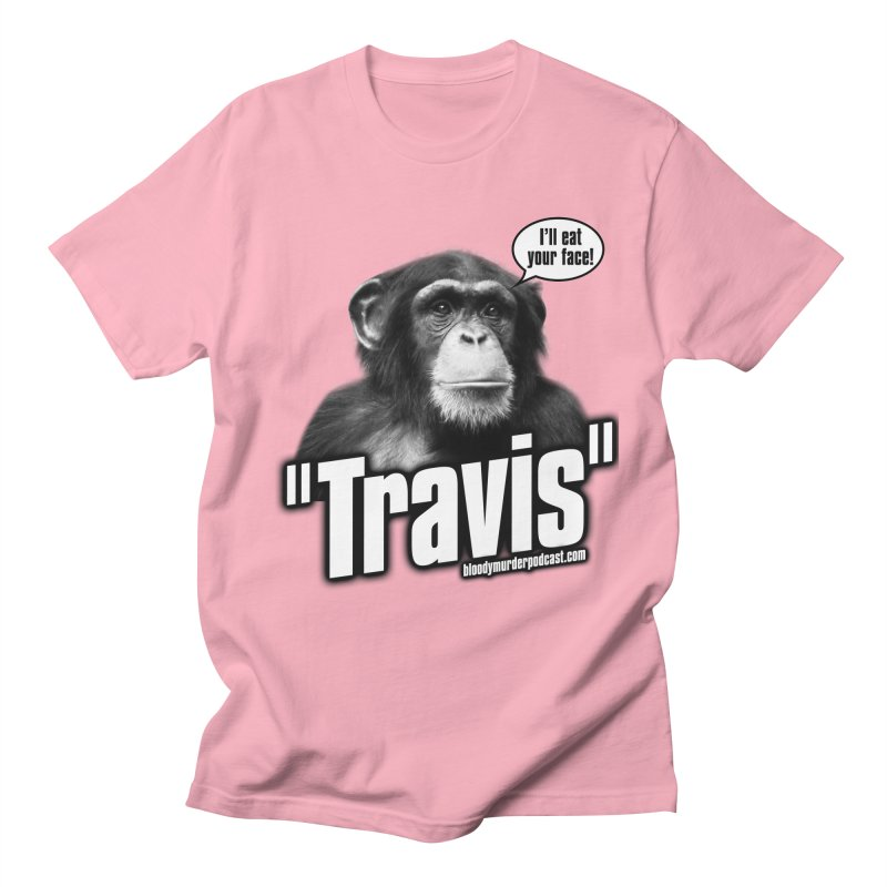 Travis the Chimp Men's T-shirt by bloodymurder's Artist Shop