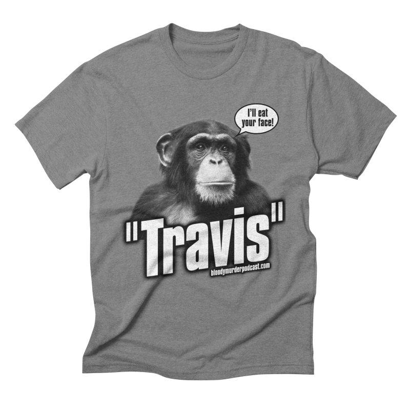 Travis the Chimp Men's Triblend T-Shirt by bloodymurder's Artist Shop