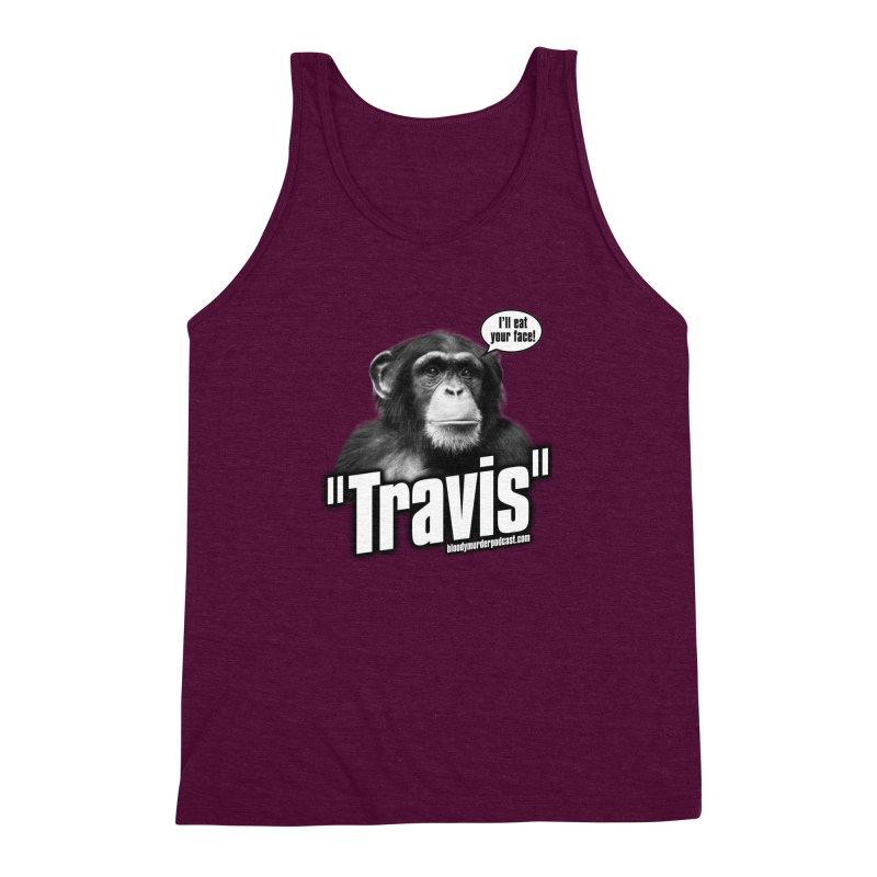 Travis the Chimp Men's Triblend Tank by bloodymurder's Artist Shop