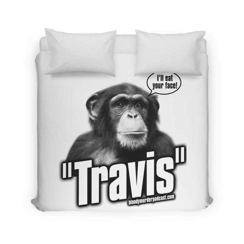 Travis the Chimp Home  by bloodymurder's Artist Shop
