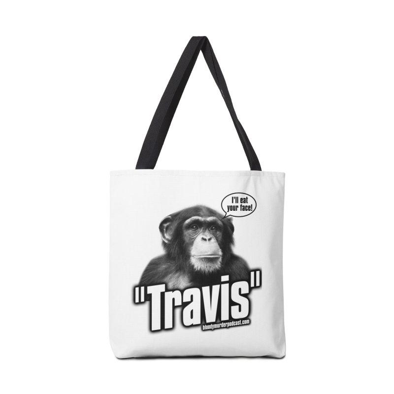 Travis the Chimp Accessories Bag by bloodymurder's Artist Shop