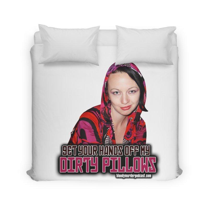 Dirty Pillows Home Duvet by Bloody Murder's Artist Shop