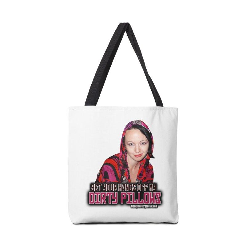 Dirty Pillows Accessories Bag by bloodymurder's Artist Shop