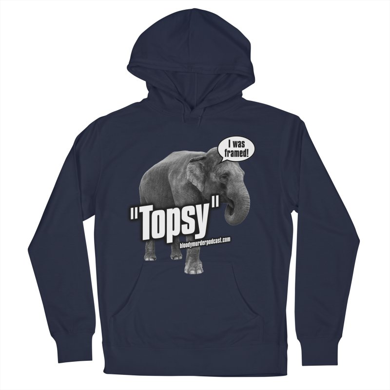 Topsy the Elephant Women's Pullover Hoody by bloodymurder's Artist Shop