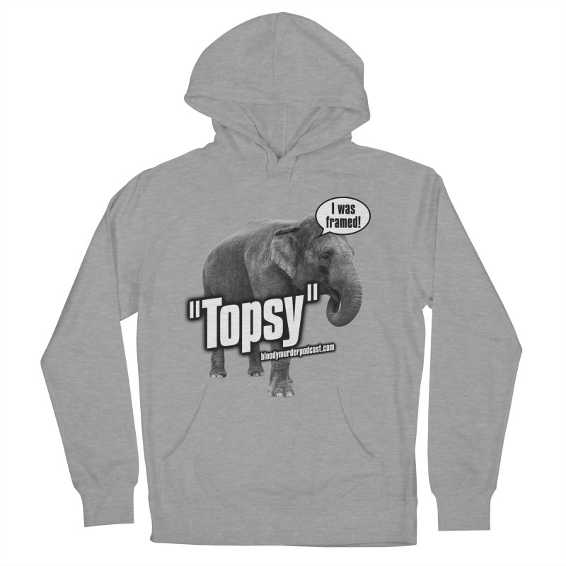 Topsy the Elephant Men's Pullover Hoody by bloodymurder's Artist Shop