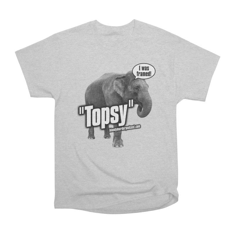 Topsy the Elephant Men's Classic T-Shirt by bloodymurder's Artist Shop