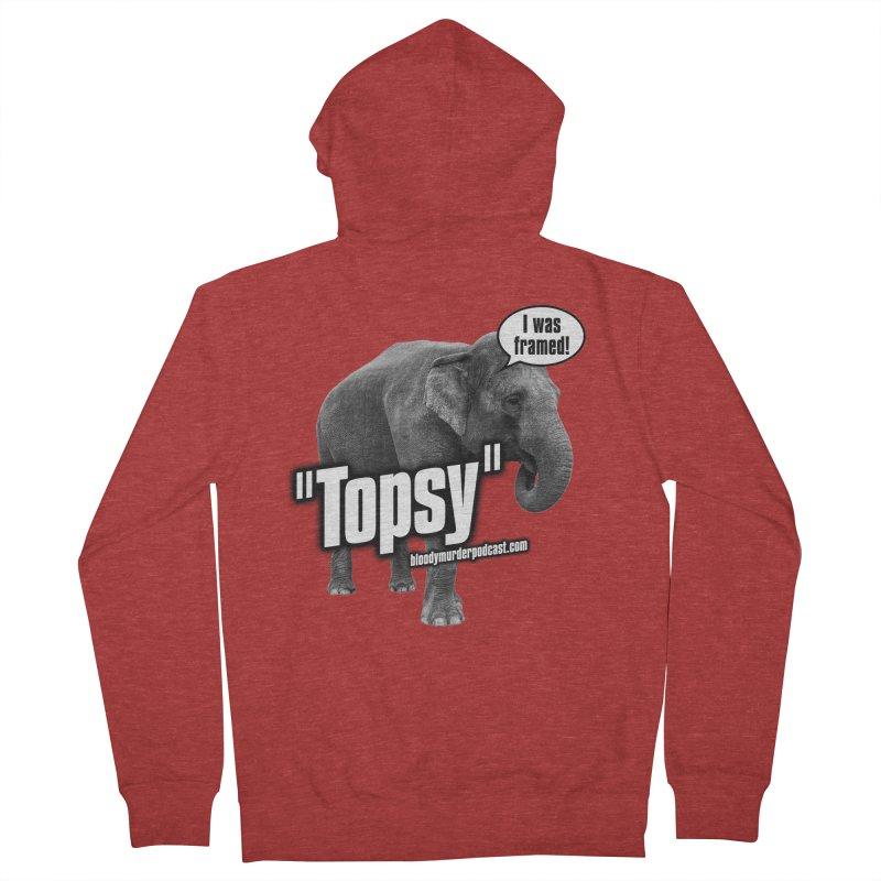 Topsy the Elephant Women's Zip-Up Hoody by bloodymurder's Artist Shop