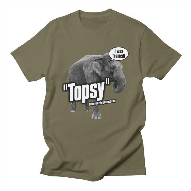 Topsy the Elephant Women's Unisex T-Shirt by bloodymurder's Artist Shop
