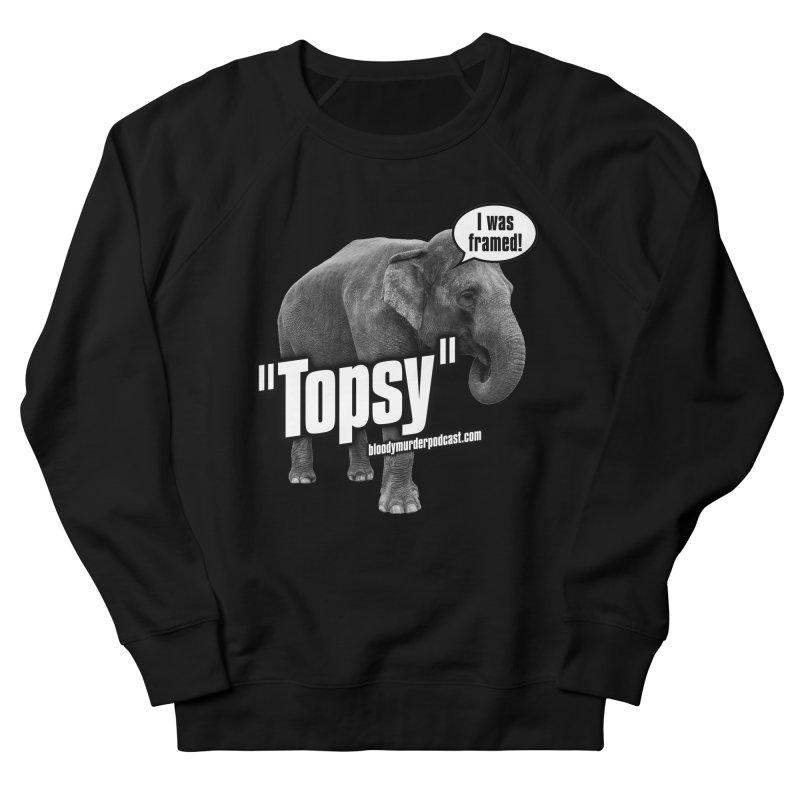 Topsy the Elephant Men's Sweatshirt by bloodymurder's Artist Shop