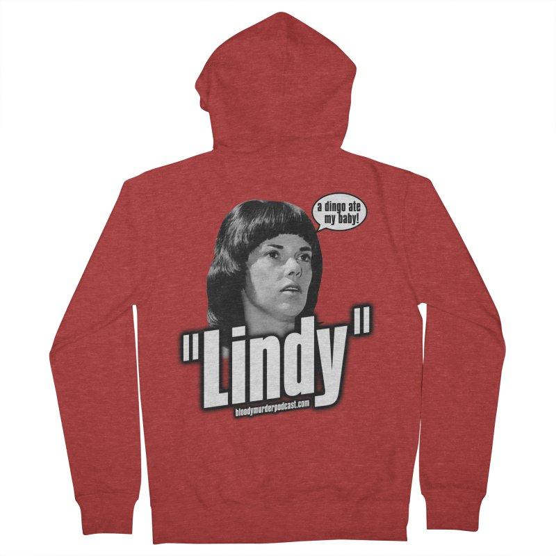 Lindy Men's Zip-Up Hoody by bloodymurder's Artist Shop