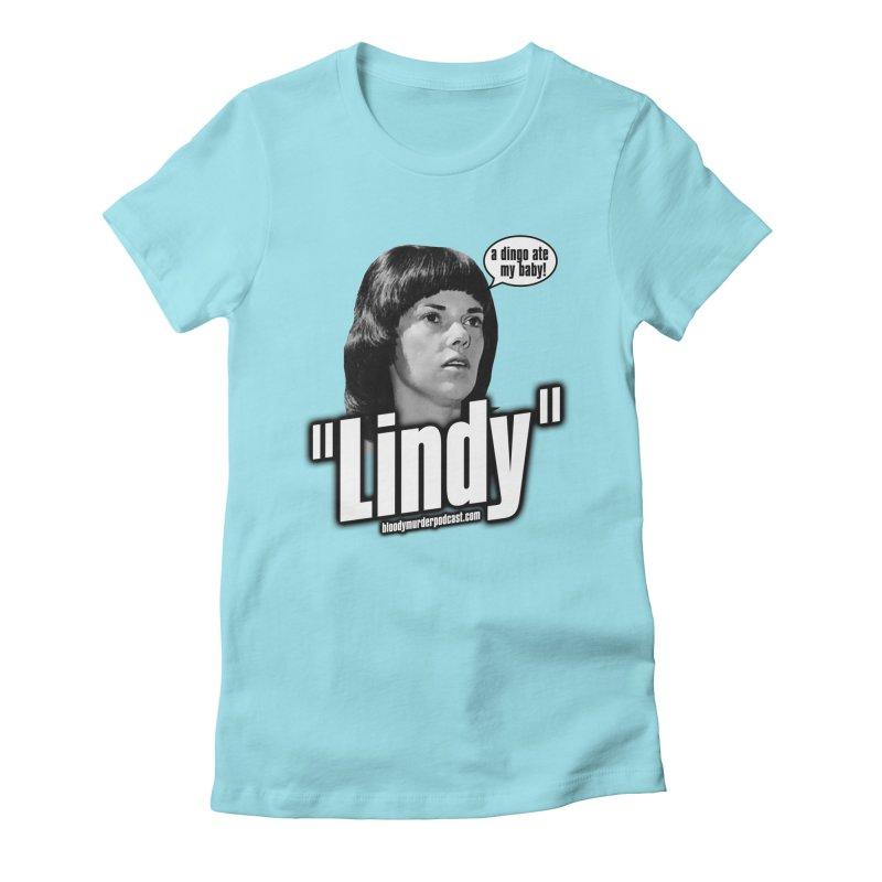 Lindy Women's Fitted T-Shirt by Bloody Murder's Artist Shop