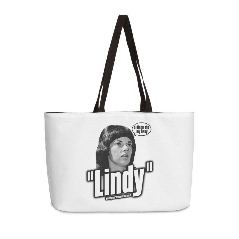 Lindy Accessories Weekender Bag Bag by Bloody Murder's Artist Shop