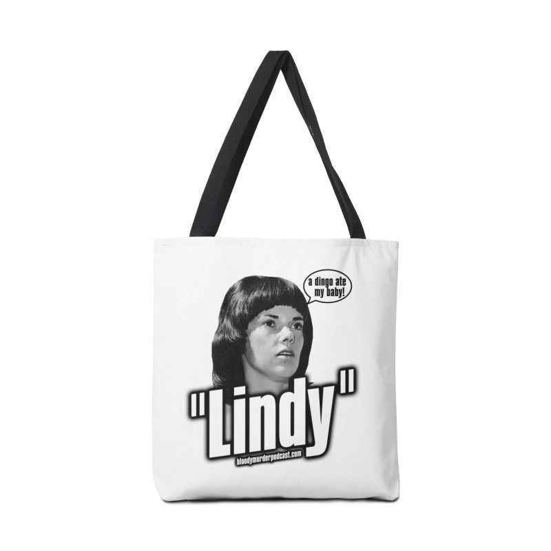 Lindy Accessories Tote Bag Bag by Bloody Murder's Artist Shop