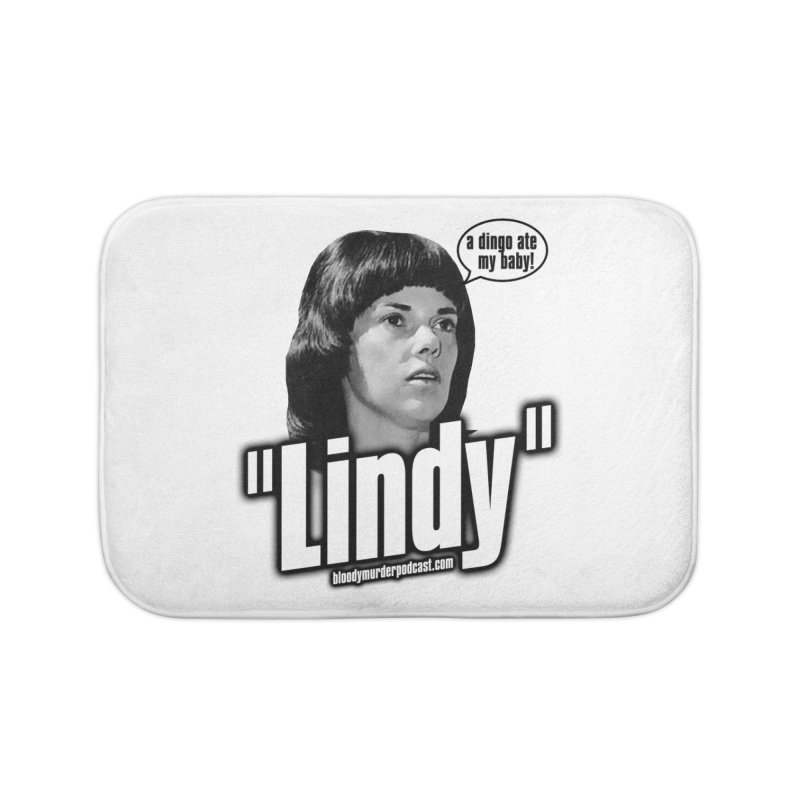 Lindy Home Bath Mat by Bloody Murder's Artist Shop