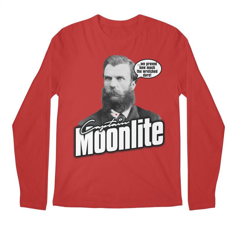 Captain Moonlite Men's Regular Longsleeve T-Shirt by Bloody Murder's Artist Shop