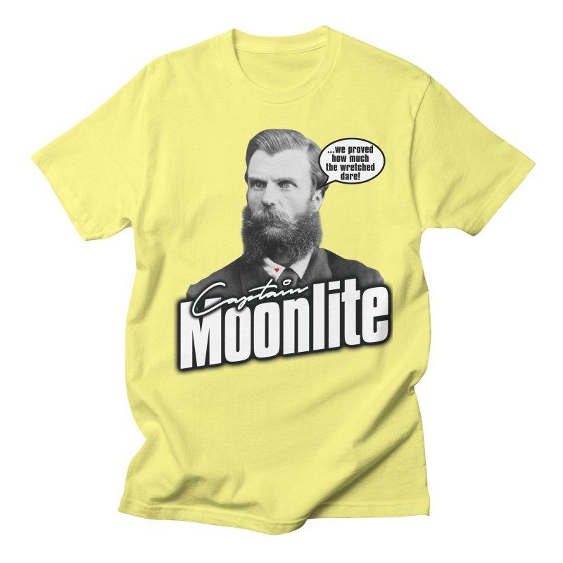Captain Moonlite Men's T-Shirt by bloodymurder's Artist Shop