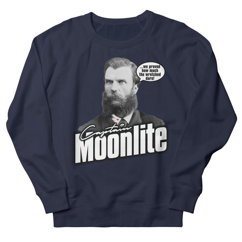 Captain Moonlite Women's Sweatshirt by bloodymurder's Artist Shop
