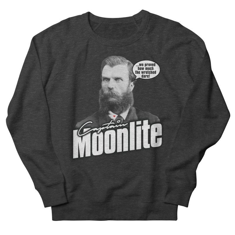 Captain Moonlite Men's Sweatshirt by bloodymurder's Artist Shop