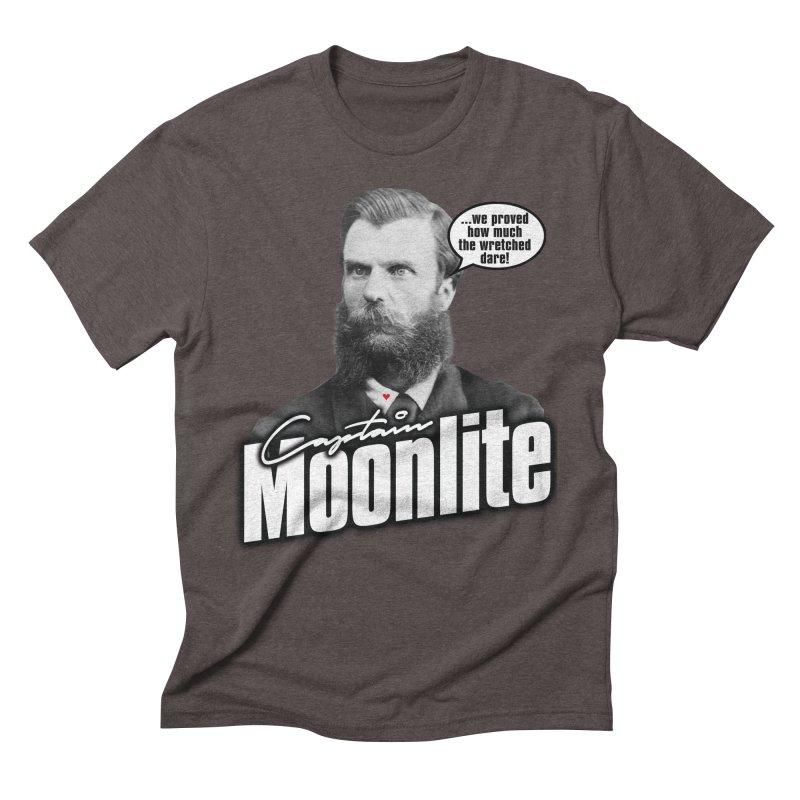 Captain Moonlite Men's Triblend T-Shirt by bloodymurder's Artist Shop