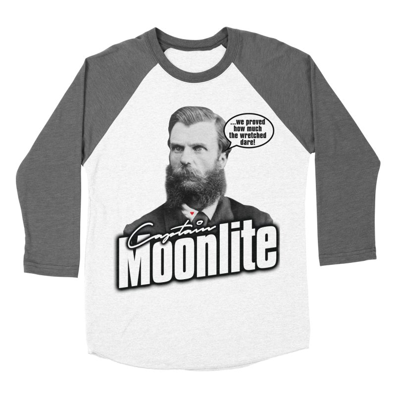 Captain Moonlite Women's Baseball Triblend T-Shirt by bloodymurder's Artist Shop
