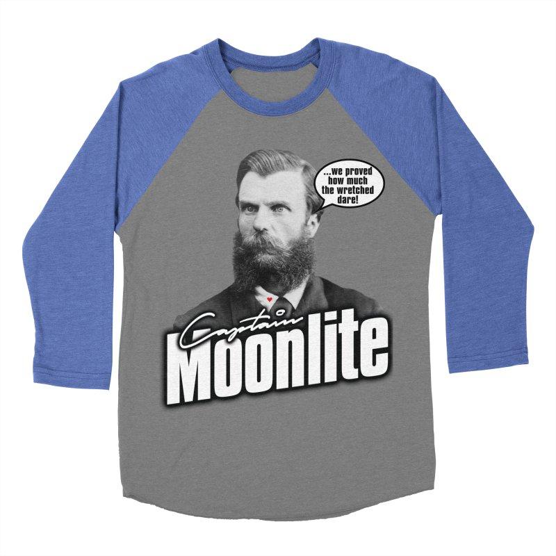 Captain Moonlite Women's Baseball Triblend Longsleeve T-Shirt by bloodymurder's Artist Shop