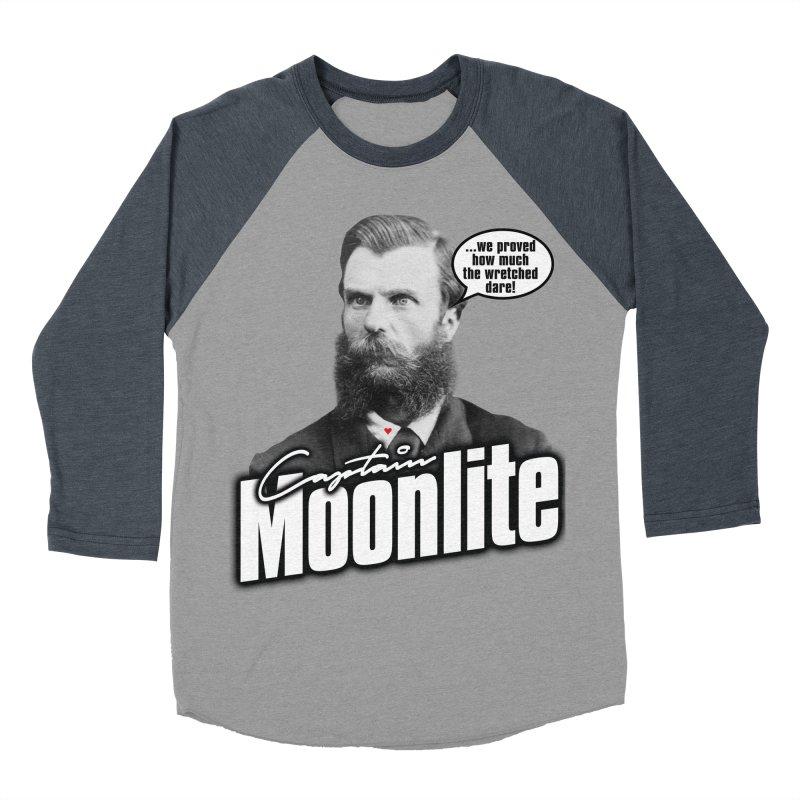 Captain Moonlite Women's Baseball Triblend T-Shirt by bloodymurder's Artist Shop