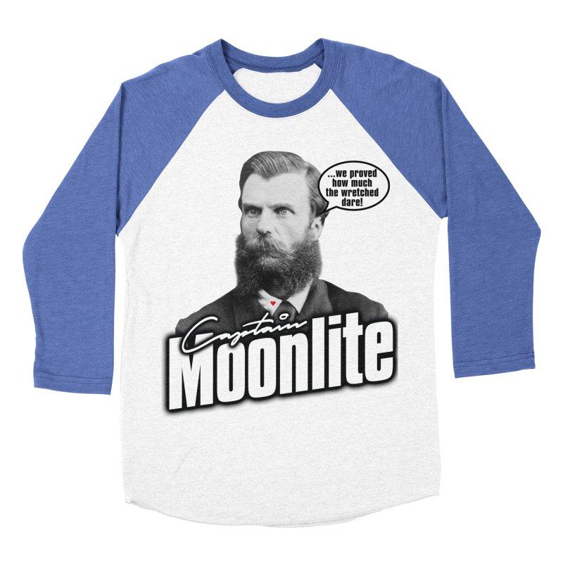 Captain Moonlite Men's Baseball Triblend T-Shirt by bloodymurder's Artist Shop