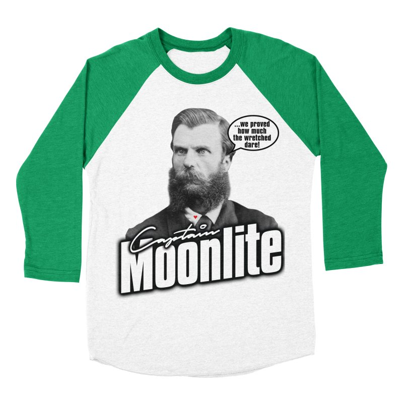 Captain Moonlite Men's Baseball Triblend T-Shirt by bloodymurder's Artist Shop
