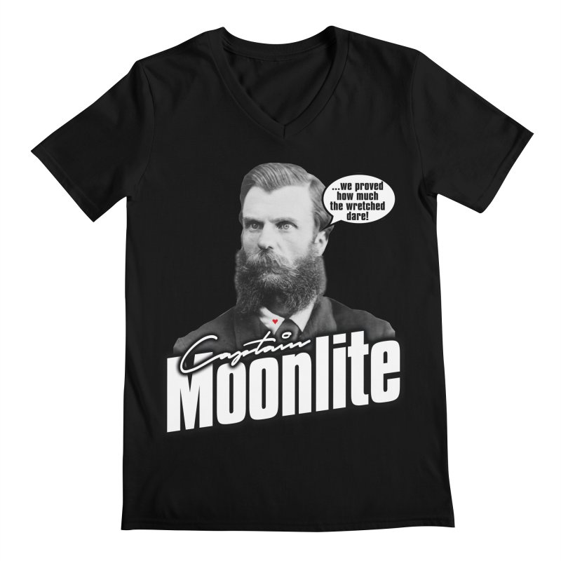 Captain Moonlite Men's V-Neck by bloodymurder's Artist Shop