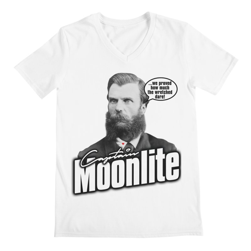 Captain Moonlite Men's V-Neck by bloodymurder's Artist Shop