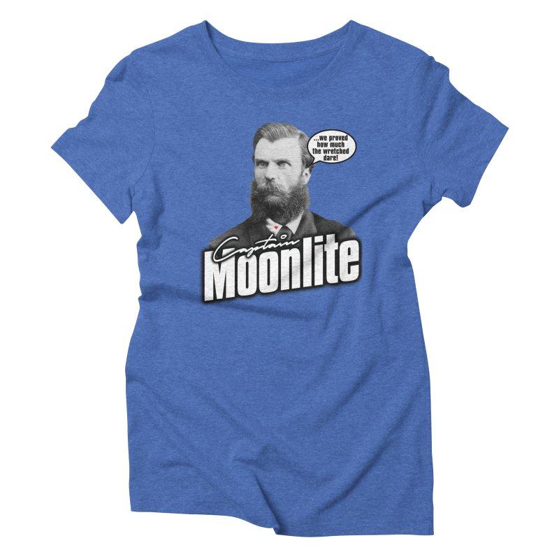 Captain Moonlite Women's Triblend T-Shirt by bloodymurder's Artist Shop