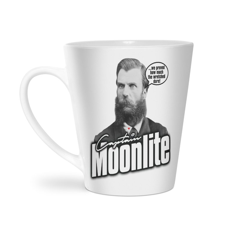 Captain Moonlite Accessories Latte Mug by Bloody Murder's Artist Shop