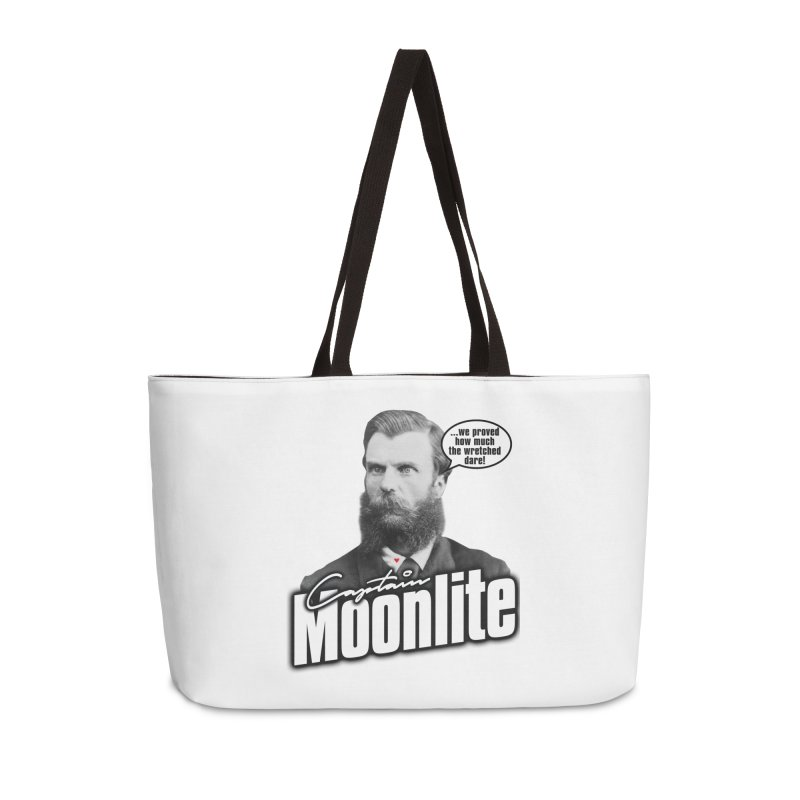 Captain Moonlite Accessories Weekender Bag Bag by Bloody Murder's Artist Shop