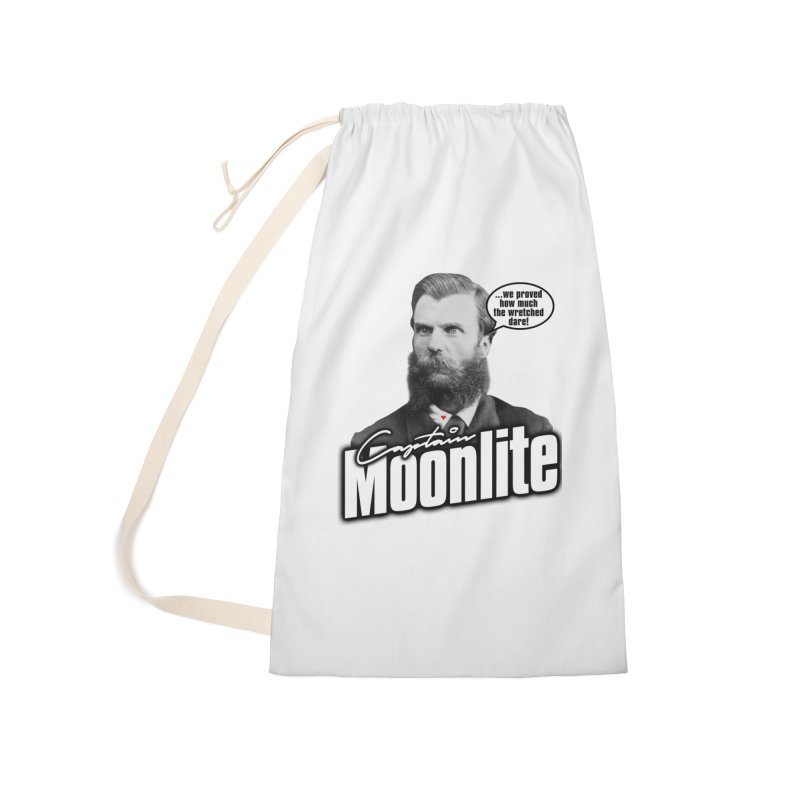 Captain Moonlite Accessories Laundry Bag Bag by Bloody Murder's Artist Shop