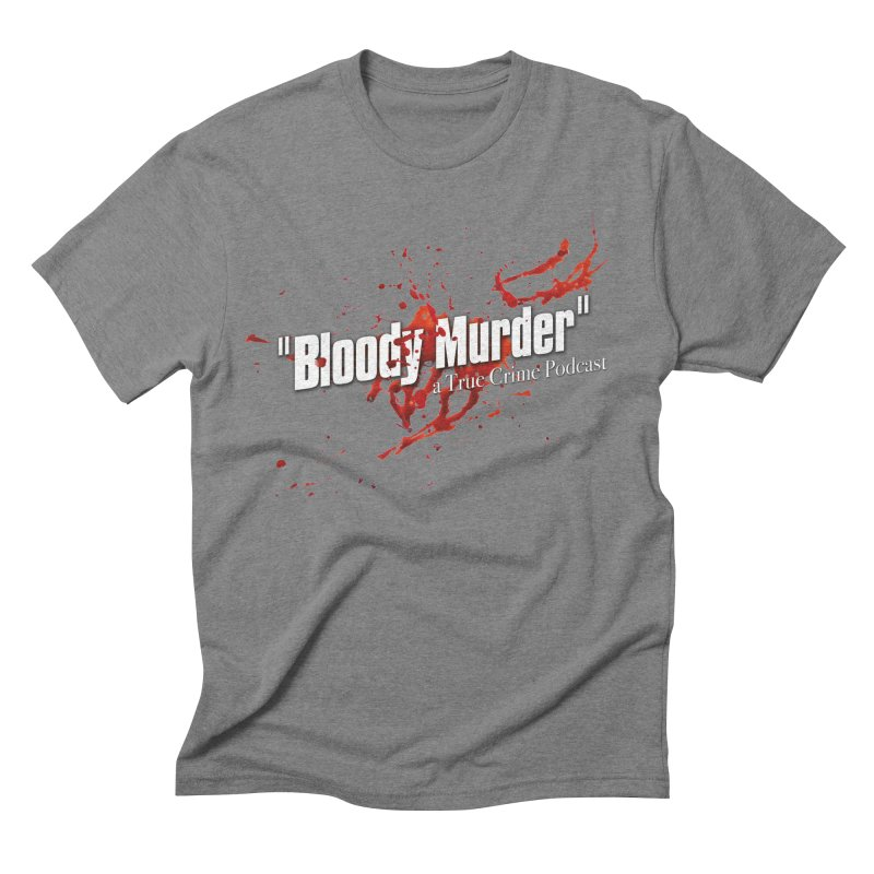 Bloody Murder Bleeding Logo White Men's  by bloodymurder's Artist Shop