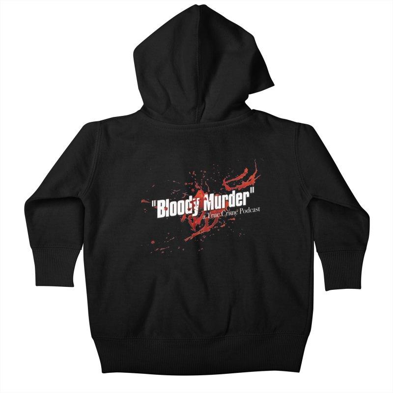 Bloody Murder Bleeding Logo White Kids  by bloodymurder's Artist Shop