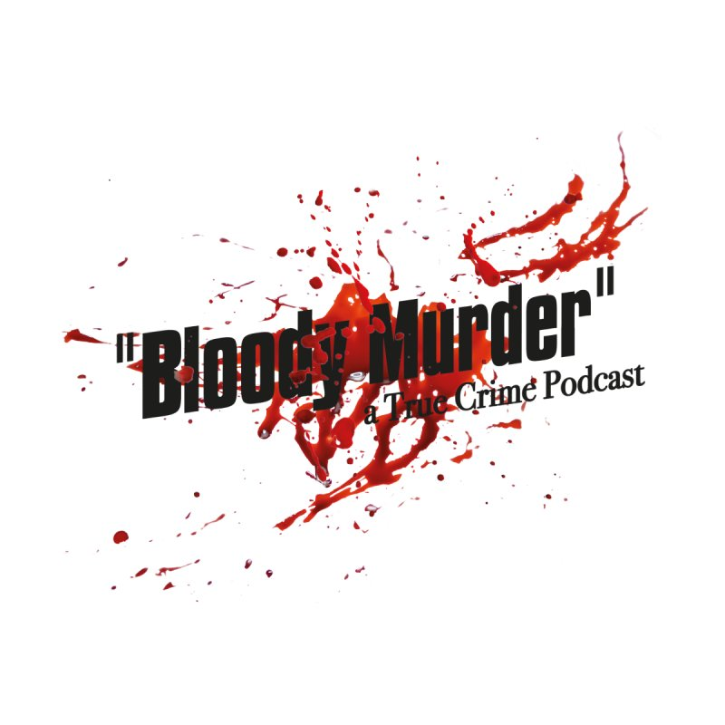 Bloody Murder Bleeding Logo Black Accessories Bag by Bloody Murder's Artist Shop