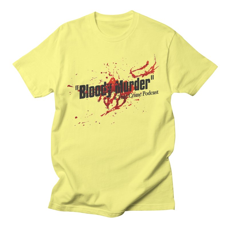 Bloody Murder Bleeding Logo Black Men's T-Shirt by Bloody Murder's Artist Shop