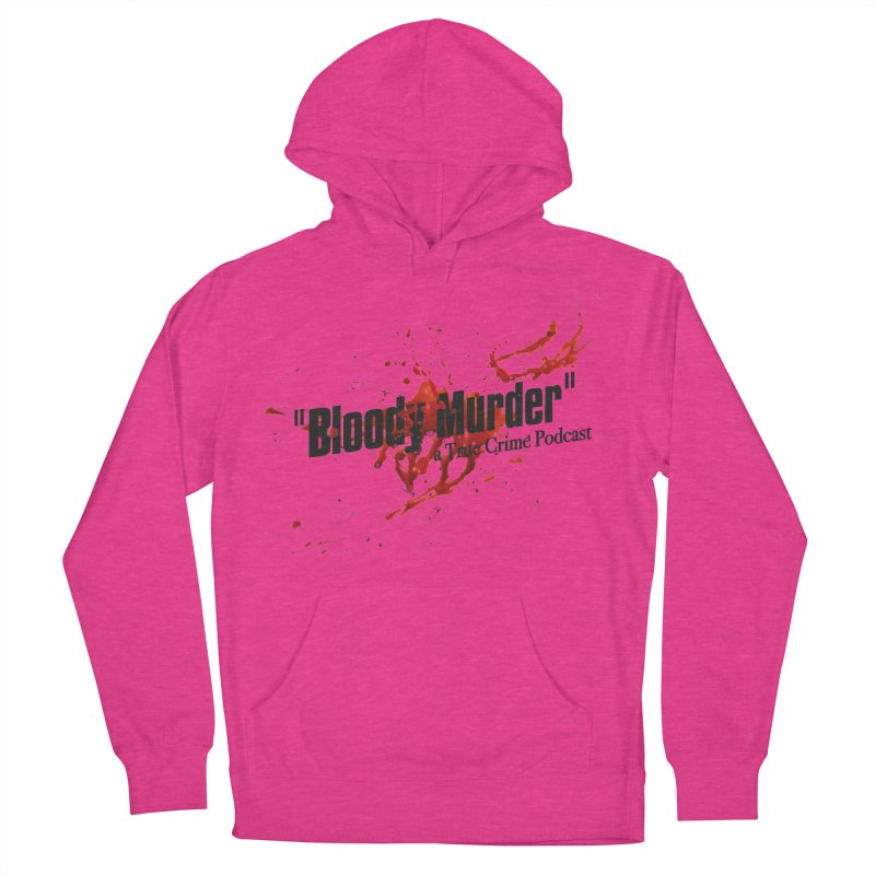 Bloody Murder Bleeding Logo Black Women's Pullover Hoody by bloodymurder's Artist Shop
