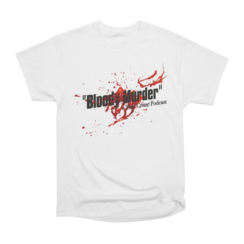 Bloody Murder Bleeding Logo Black Women's Classic Unisex T-Shirt by bloodymurder's Artist Shop