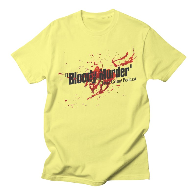 Bloody Murder Bleeding Logo Black Men's T-Shirt by bloodymurder's Artist Shop