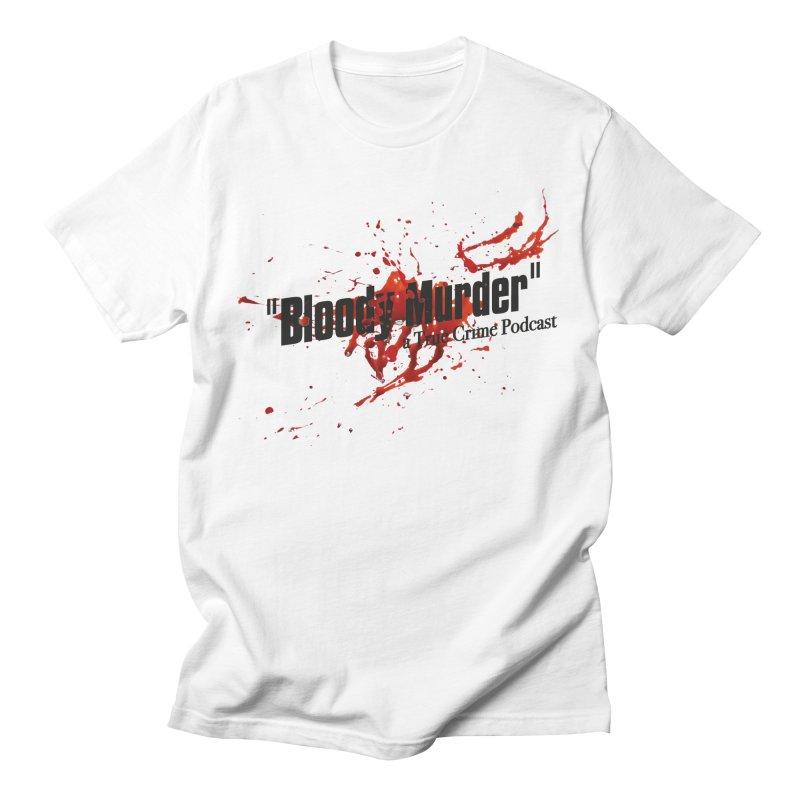 Bloody Murder Bleeding Logo Black Women's Unisex T-Shirt by bloodymurder's Artist Shop
